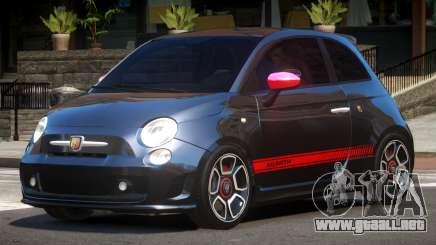 Fiat 500 Abart para GTA 4