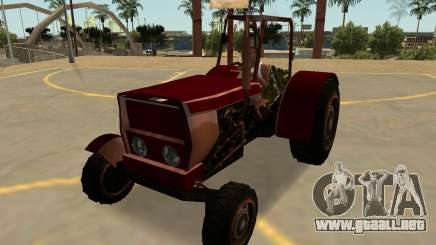 Stanley Tractor Oxidado Con Insignias Y Extras para GTA San Andreas