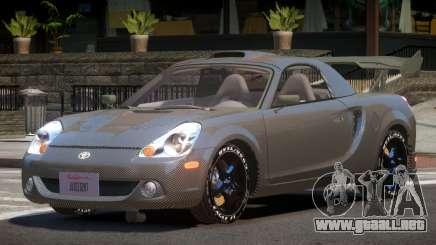 Toyota MRS2 Spyder PJ5 para GTA 4
