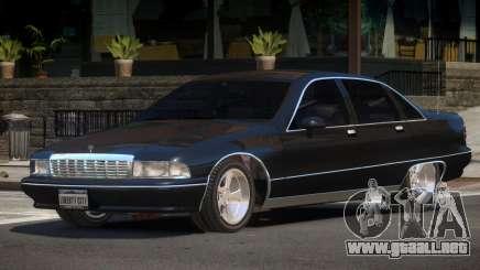 1989 Chevrolet Caprice para GTA 4