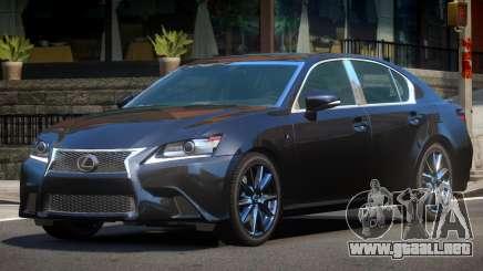 Lexus GS350 V1.0 para GTA 4