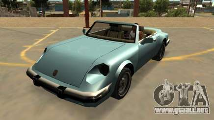 Pfister Cometa Con Insignias Y Extras para GTA San Andreas