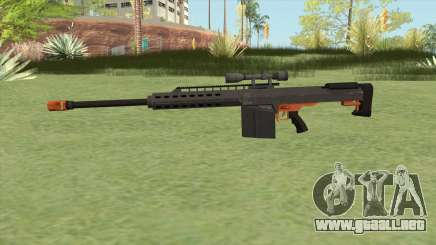 Heavy Sniper GTA V (Orange) V3 para GTA San Andreas