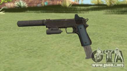 Heavy Pistol GTA V (LSPD) Full Attachments para GTA San Andreas