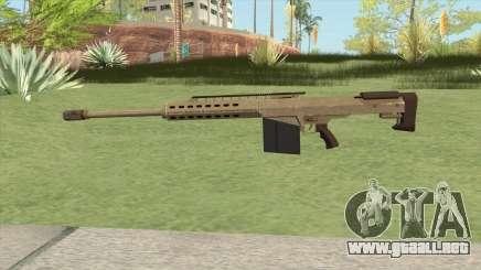 Heavy Sniper GTA V (Army) V2 para GTA San Andreas
