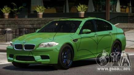 BMW M5 F10 LT PJ5 para GTA 4