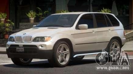 BMW X5 CV para GTA 4