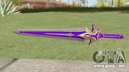 Purple Sword para GTA San Andreas