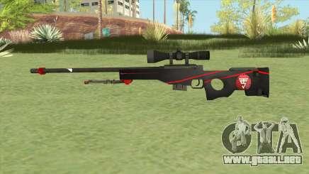 L96A1 (Red Line) para GTA San Andreas