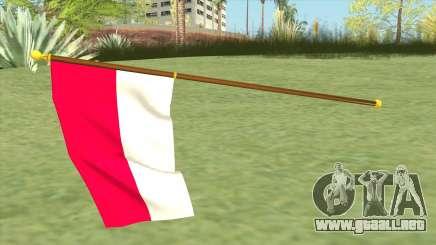 Indonesian Flag para GTA San Andreas