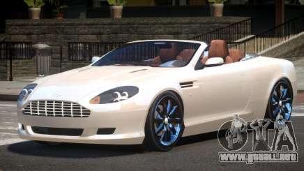Aston Martin DB9 Spyder V1.0 para GTA 4