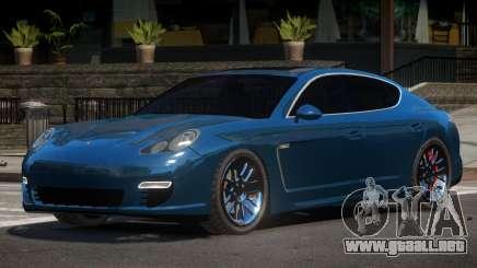 Porsche Panamera Turbo S V1.1 para GTA 4