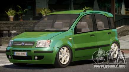 Fiat Panda V1.0 para GTA 4