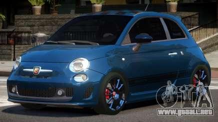 Fiat 500 ST para GTA 4