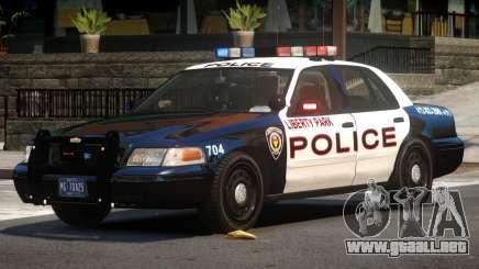 Ford Crown Victoria Police V2.3 para GTA 4
