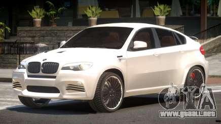 BMW X6 V2.1 para GTA 4