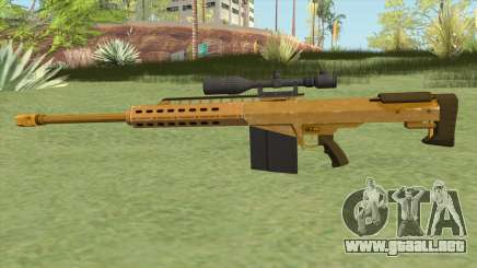 Heavy Sniper GTA V (Gold) V1 para GTA San Andreas