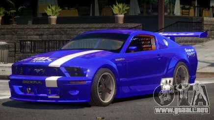 Ford Mustang G-Tuning para GTA 4