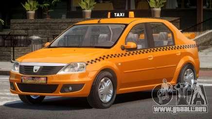 Dacia Logan Taxi V1.0 para GTA 4