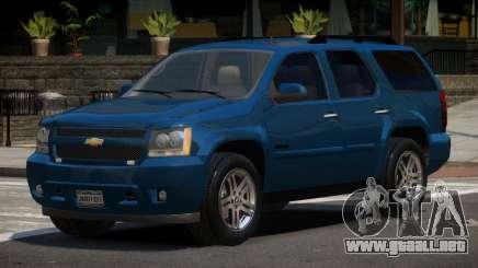 Chevrolet Tahoe Edit para GTA 4
