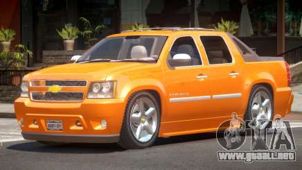 Chevrolet Avalanche LT para GTA 4