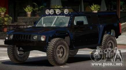 Hummer H3 Edit para GTA 4