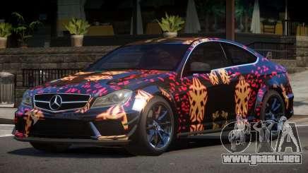 Mercedes Benz C63 AMG GT PJ4 para GTA 4
