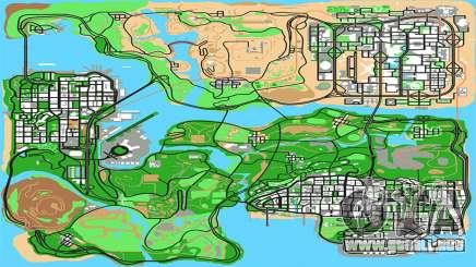 Remasterizado HQ Radar por Stringer para GTA San Andreas