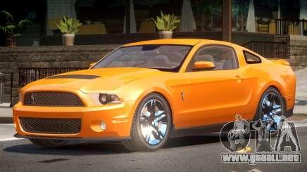Shelby GT500 V8 para GTA 4