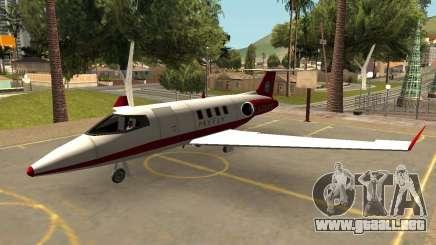 Buckingham Shamal Con Diversas Compañías Aéreas para GTA San Andreas