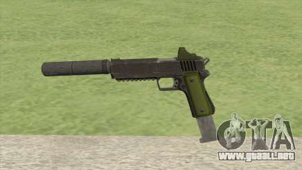 Heavy Pistol GTA V (Green) Suppressor V2 para GTA San Andreas