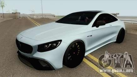 Mercedes-Benz S63 AMG Black para GTA San Andreas