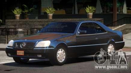 Mercedes Benz 600SEC V1.0 para GTA 4