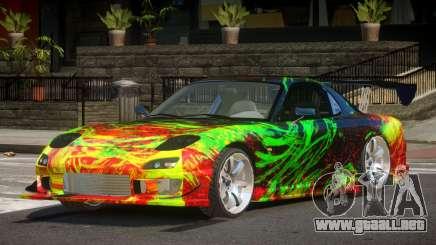 Mazda RX-7 GT-Sport PJ1 para GTA 4