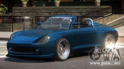 Pfister Comet Spyder para GTA 4