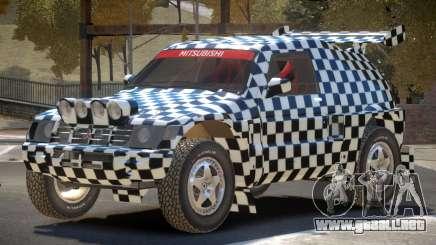 Mitsubishi Pajero Rally Sport PJ2 para GTA 4