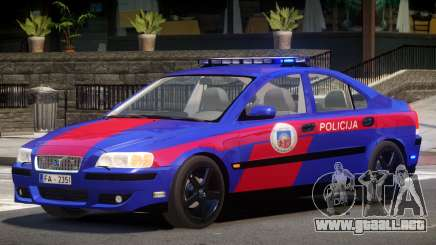 Volvo S60R Police V1.0 para GTA 4