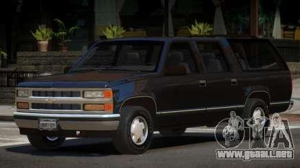 1998 Chevrolet Suburban para GTA 4