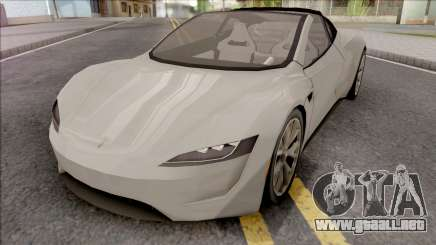 Tesla Roadster 2020 Performance LQ v1 para GTA San Andreas