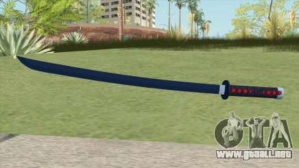 Nichirin Katana (Demon Slayer) para GTA San Andreas