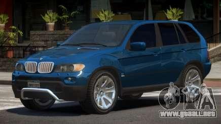 BMW X5 S-Edit para GTA 4