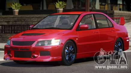 Mitsubishi Lancer Tuned para GTA 4