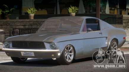 1968 Ford Mustang Tuned PJ2 para GTA 4