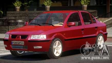 Iran Khodro Samand SX para GTA 4