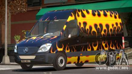 Mercedes-Benz Sprinter V1.0 PJ3 para GTA 4