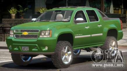 Chevrolet Avalanche RT para GTA 4