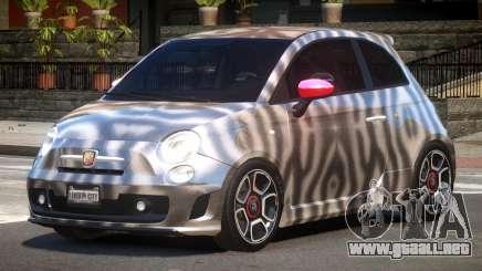 Fiat 500 Abart PJ4 para GTA 4