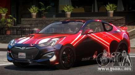 Hyundai Genesis RS PJ4 para GTA 4