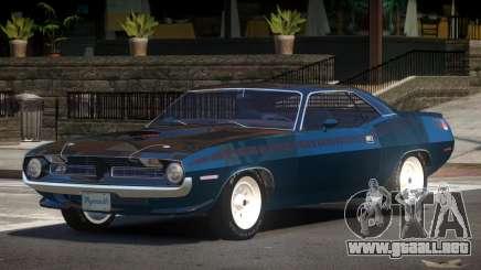 Plymouth Cuda NS para GTA 4