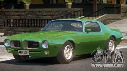 1969 Pontiac Firebird para GTA 4